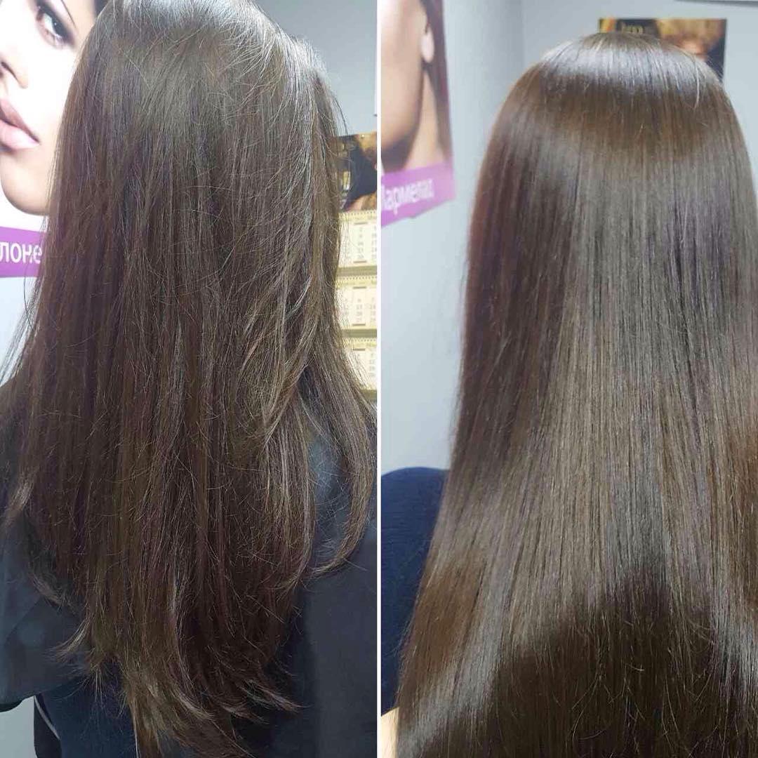 дизайнерские ботокс волос отзывы фото до и после выставочное оборудование
