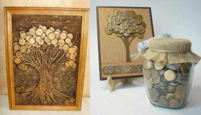 Как сделать денежное дерево своими руками. Пошаговая инструкция, как сделать денежное дерево из монет, купюр, бисера. Как сделать денежное дерево своими руками