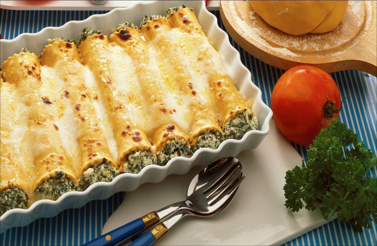 блюда из больших макарон трубочек с фото