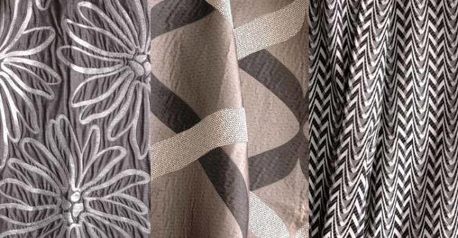 shtory-iz-zhakkardovoj-tkani-650x339 Как самостоятельно сшить простые шторы: мастер-класс. Учимся шить шторы своими руками правильно Как можно самой сшить шторы