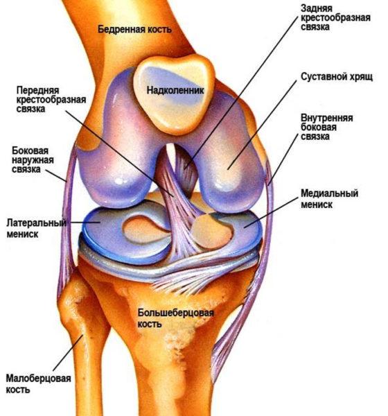 Видео как сделать укол в колено