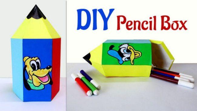 diy-pencil-case-novate35-650x367 Как сделать пенал для школы своими руками. Как сделать пенал из бумаги, из ткани, из картона, из фетра. Как самому сделать пенал для ручек и карандашей. Как сделать пенал для кукол