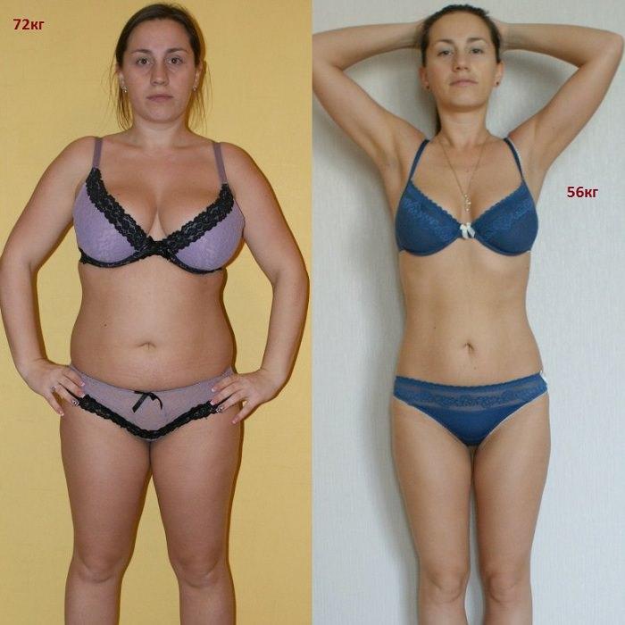 Методика похудения на месяц