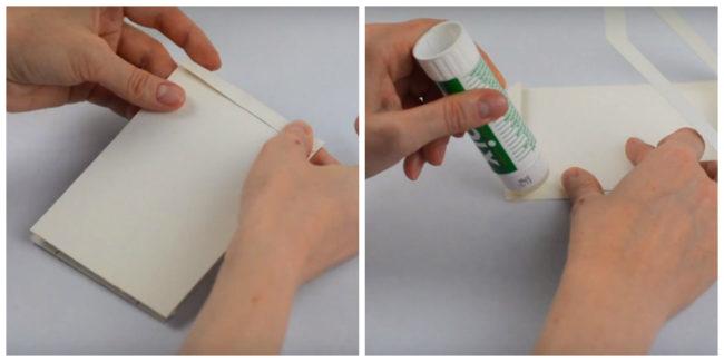Рамка оригами из бумаги