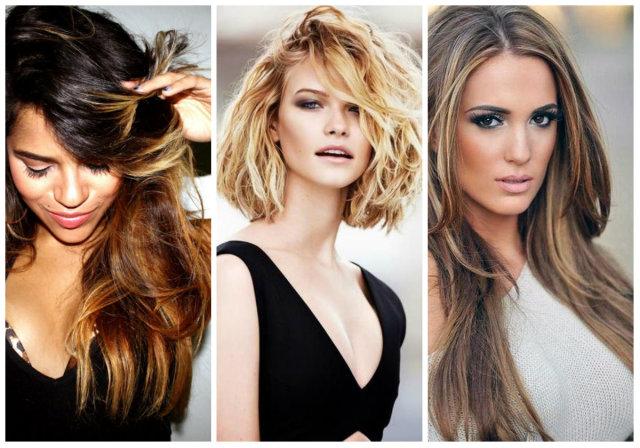 Модное окрашивание на длинные, средние и короткие волосы 2019