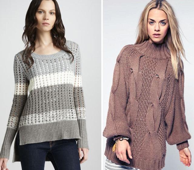как связать свитер спицами для начинающих схемы пошаговая